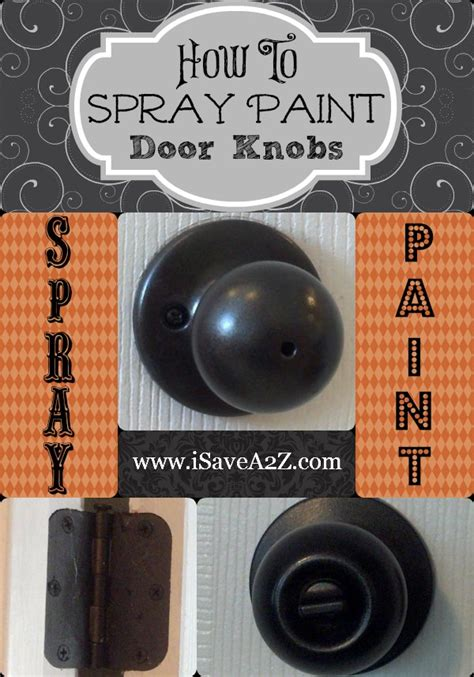 spray paint door knobs spray paint door knobs yes you can so easy you won t