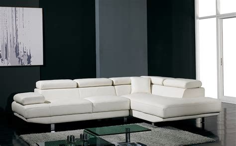 ultra modern sofas t60 ultra modern white leather sectional sofa modern