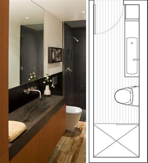 Narrow Bathroom Ideas by 25 Best Ideas About Narrow Bathroom On