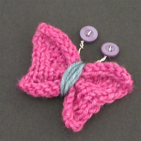 knitted butterfly knitted butterfly tutorial burns