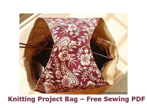 sewing pattern for knitting project bag basic knitting project bag free sewing pdf cleaning