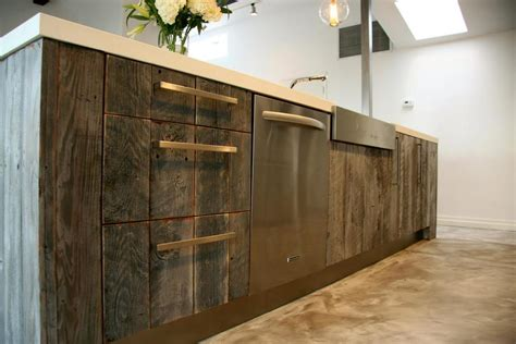 Modern Countertops reclaiming wood for today s modern homes
