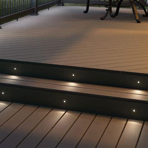 solar deck lighting systems recessed lighting recessed deck lighting the great ideas