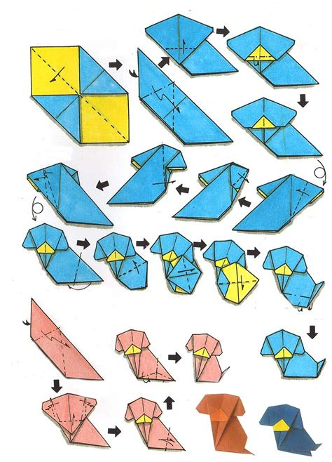 origami animals step by step step by step origami animals hairstyles