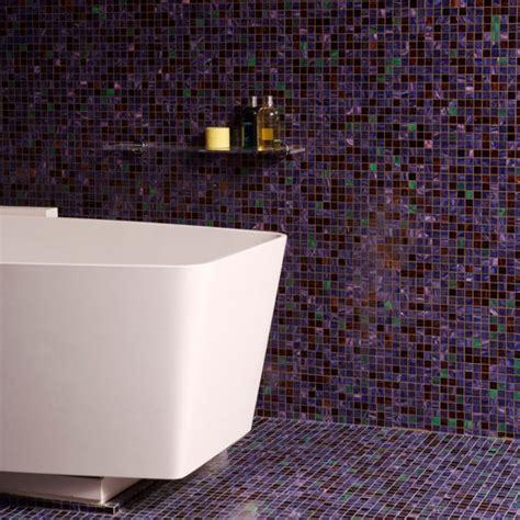 mosaic tiles in bathrooms ideas floor to ceiling purple mosaic bathroom tiles bathroom