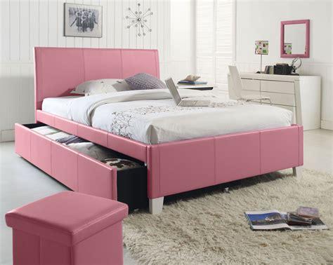 pink upholstered bed fantasia pink upholstered trundle bed from standard