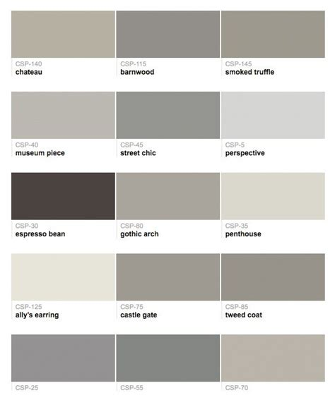 shades of grey colors 65 best images about paint colors on woodlawn