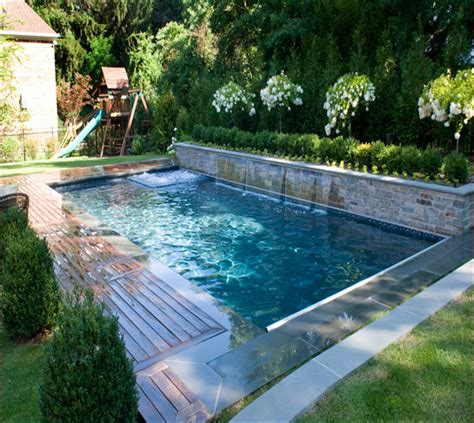 backyard inground pool designs small inground pools for small yards small pools