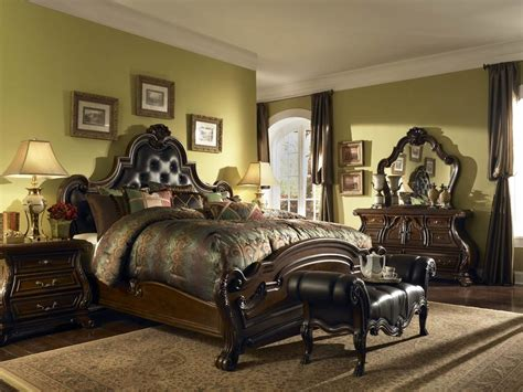 traditional style bedroom furniture deluxe furniture traditional bedroom from wooden material