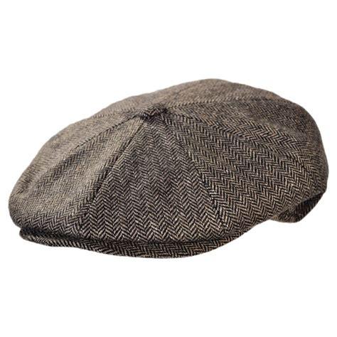 hat for jaxon hats made in italy paolo herringbone newsboy cap