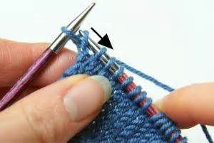how to remove knitting from needles knitting backwards