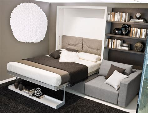 wall beds with sofa transformable murphy bed sofa systems that save up on