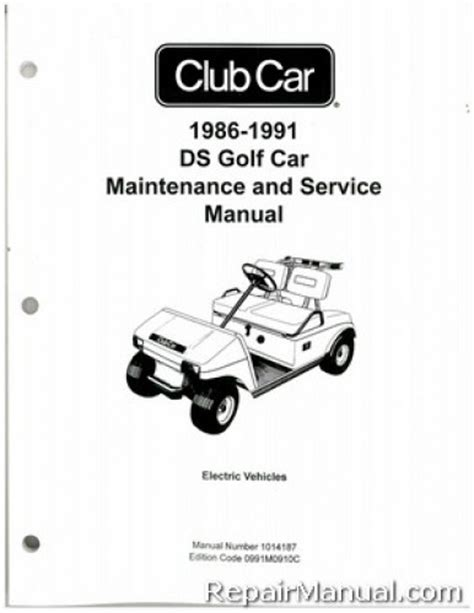 service manual online car repair manuals free 1986 buick electra parking system service 1986 1991 club car ds golf car electric service manual