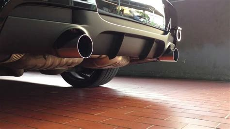 Bmw Performance Exhaust 335i by E90 335i N54 Performance Exhaust Cold Start Bms Catless