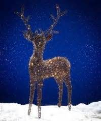 white light reindeer light up outdoor rattan reindeer brown with 180 warm white