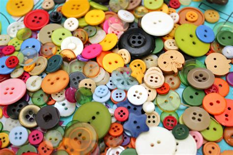 with buttons craft button