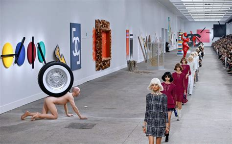 the painting fashion show the best and worst chanel fashion show themes betches