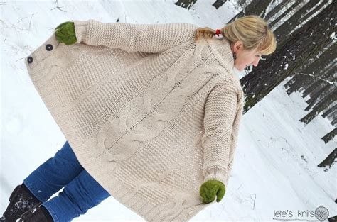 the big knit patterns the big cable by lorkowska j knitting pattern