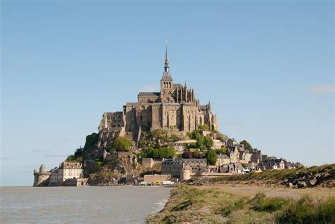 le mont michel in normandy tourist spots around the world