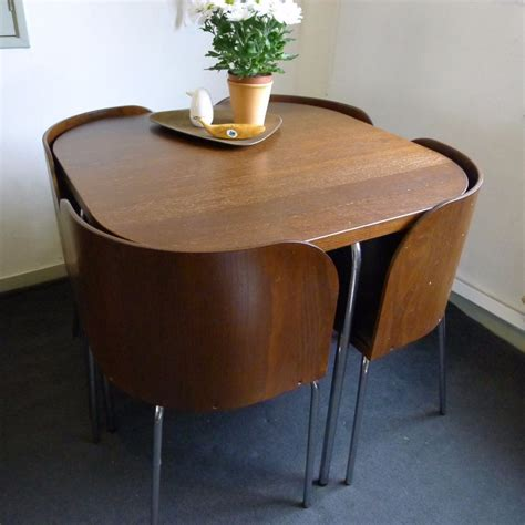 retro dining tables and chairs ikea fusion retro compact space saving corner dining table