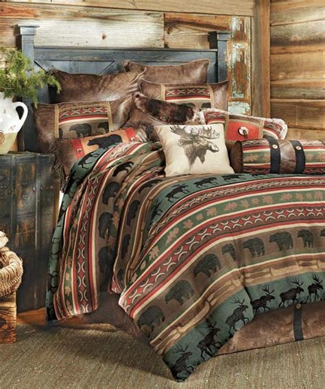 wildlife bed sets rustic bedding wildlife bedding collections
