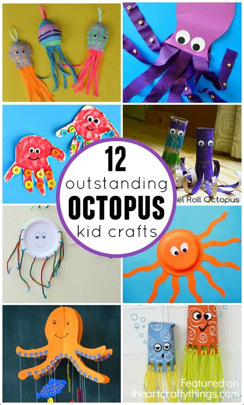 octopus crafts for 12 outstanding octopus crafts for i crafty things