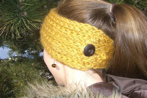 ear warmer loom knitting pattern loom knit headband patterns a knitting