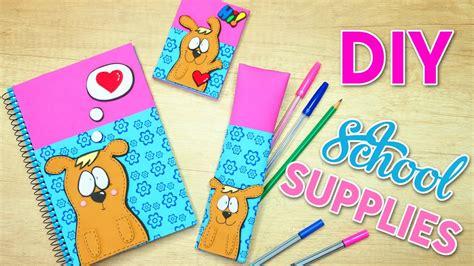 easy back to school crafts for diy school supplies easy crafts for back to school