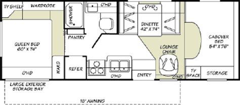 tioga rv floor plans 2007 fleetwood tioga 26q floorplan