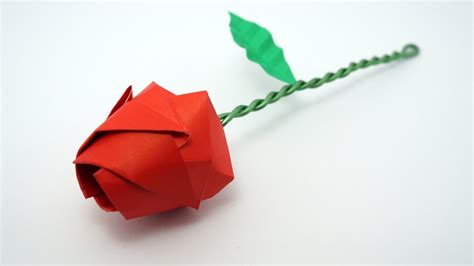 origami roses origami tutorial davor vinko