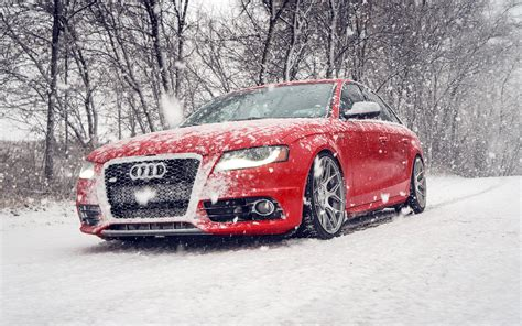 Car Wallpaper Snow by Audi S4 Car In Snow Winter Wallpaper Cars