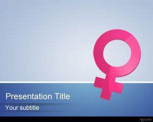 feminine powerpoint template
