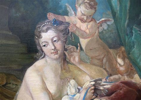 19th century painting quot the toilette of venus quot after francois boucher for sale at 1stdibs
