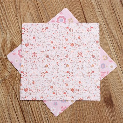 wholesale origami paper wholesale 70pcs lot cheap floral pattern diy origami