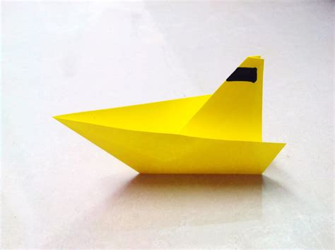 how to make paper boat craft how to make an origami paper boat 1 origami paper