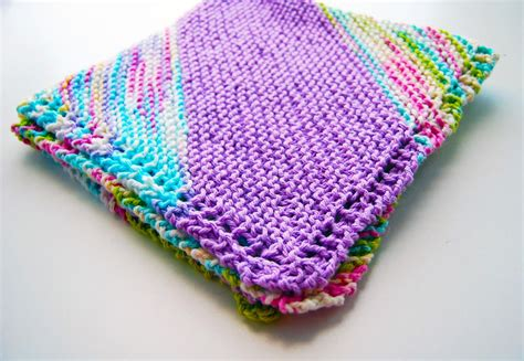 fast knitting bias knit baby blanket allfreeknitting