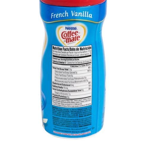 Nestle Coffee Mate French Vanilla Coffee Creamer Shaker   12/Case