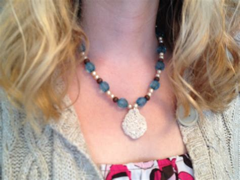 how to make shell jewelry how to make a shell necklace from a vacation souvenir