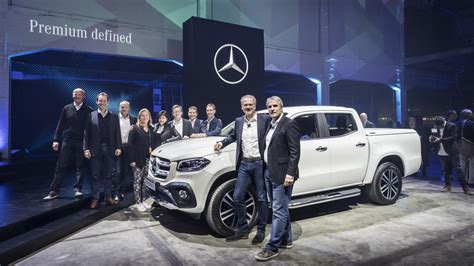 Mercedes Target Market by 2018 Mercedes X Class Debuts With 190hp Road Chops