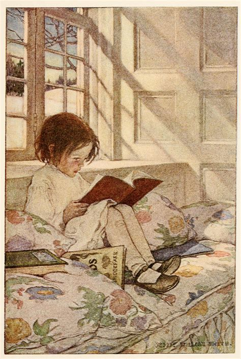 Picture Books In Winter Illustration By Willcox