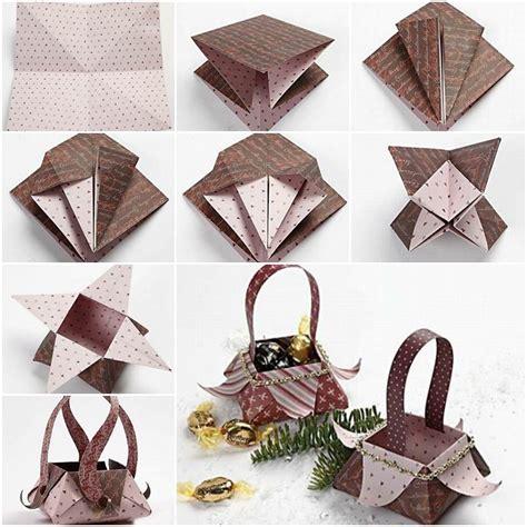 easy origami basket beautiful origami box folding