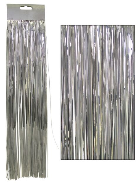 tinsel strands tree silver lametta tinsel icicles 300 strands