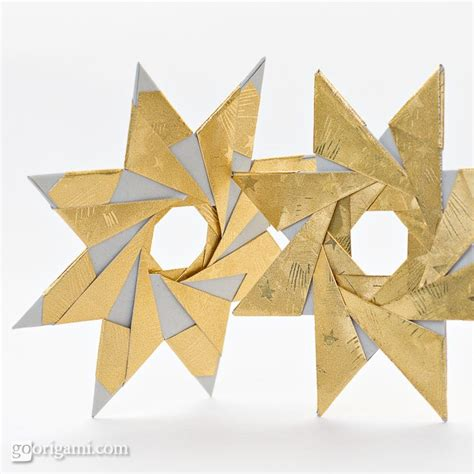 8 point origami 8 pointed origami by sinayskaya two designs