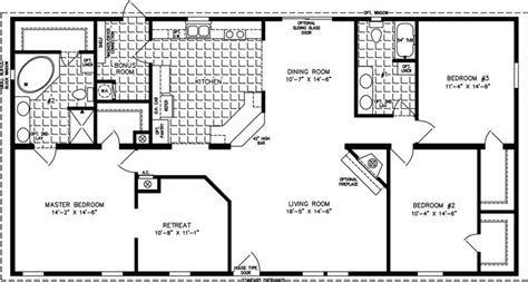floor plans for 1800 sq ft homes jacobsen tnr 46017w 32 x 60 1840 sq ft our home