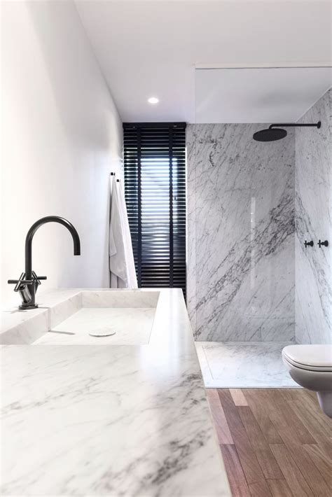 modern marble bathroom shower power unforgettable designs to wash away your cares