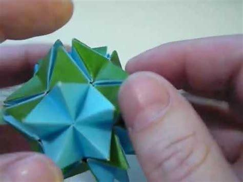 origami revealed flower origami spikey pop up revealed flower mov