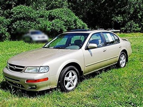 1998 Nissan Maxima Gle by Sell Used 1998 Nissan Maxima Gle In 969 N Range Line Rd