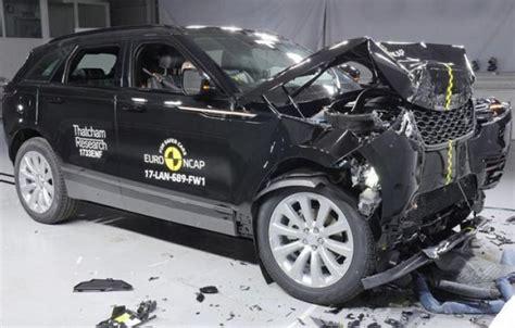 Range Rover Crash Test Ratings by Range Rover Velar Gets 5 Rating In The Crash Test 1
