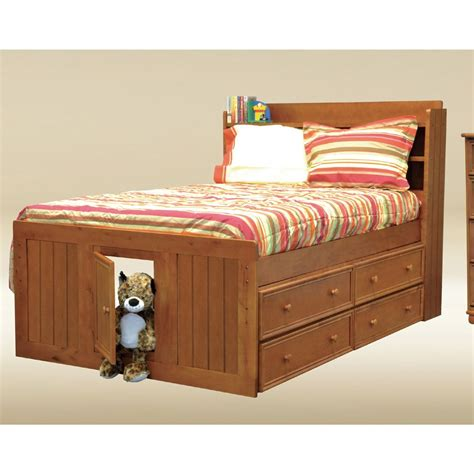 captains bed with drawers pin solid wood captains bed with six drawer storage unit