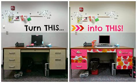 decorating your office desk cut craft create decorate your office space part 1
